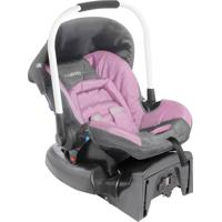 Bebê Conforto Caracol Aspen Cinza Rosa Lenox Kiddo