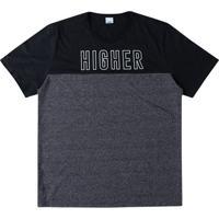 Camiseta Tradicional Estampada Higher Wee!