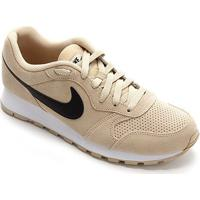Tênis Nike Md Runner 2 Suede Masculino - Masculino-Dourado+Preto