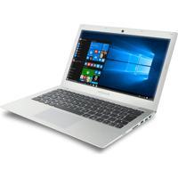"Notebook Megaware Hsw131-05 - Prata - Intel Core I3-400U - Ram 4Gb - Hd 500Gb - Tela 13.3"" - Windows 10"