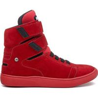 Tênis All Red Rock Fit Kiss Em Couro Masculino - Masculino