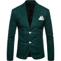 Blazer Masculino - Verde Escuro M