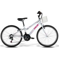 Bicicleta Caloi Ceci Juvenil - Aro 24 - 21 Marchas - Feminino