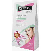 Depilador Depimiel Sensitive Cera Facial Folhas Prontas 16 Unidades E Ganhe Sabonete Liquido Facial 15Ml