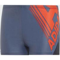 Sunga Boxer Fit Bos Cb J Adidas - Unissex-Azul