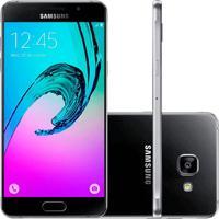 """Smartphone Samsung A5 - 4G - Dual Chip - Preto - 16Gb - Tela De 5.2"""" - Android 5.1"""