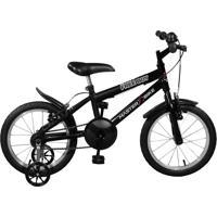 Bicicleta Master Bike Aro 16 Masculina Free Boy Preto