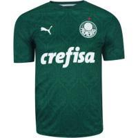 Camisa Do Palmeiras I 2020 Puma - Masculina - Verde