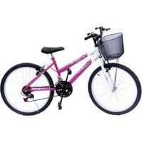 Bicicleta Aro 24 Onix 18M Convencional - Unissex