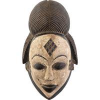 Máscara Africana Punu   Gabão