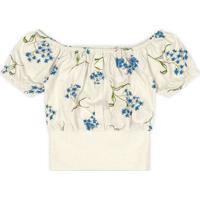 Blusa Marisol Infantil - 10317022I Bege