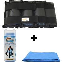 Kit Par De Caneleiras 8 Kg + 1 Toalha Gelada Ice Towel