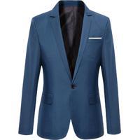 Blazer Masculino - Azul Escuro P