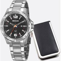 Kit Relógio Masculino Seculus 20788G0Svna1K