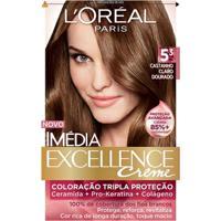 Tintura Imédia L'Oréal 5.3 Castanho Claro Dourado - Feminino-Incolor