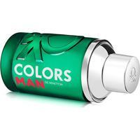 Perfume Masculino Colors Man Green Benetton Eau De Toilette 60Ml - Masculino-Incolor