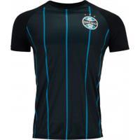 Camiseta Do Grêmio Retrô 1956 - Masculina - Preto
