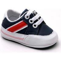 Tênis Top Franca Shoes Infantil - Masculino-Preto