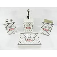 Conjunto Jogo Para Banheiro Em Cerâmica 4 Peças