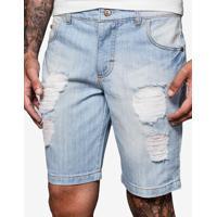 Bermuda Jeans Destroyed 400034