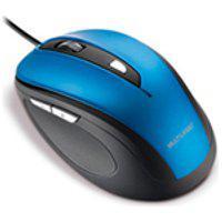 Mouse Multilaser, Comfort 6 Botoes Com Fio, Azul/Preto Mo244