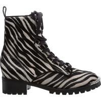 Coturno Glam Zebra   Schutz