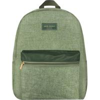 Mochila Com Bolso- Verde- 42,5X33X14,5Cmjacki Design