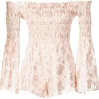 Alice Mccall Doing It Right Playsuit - Nude & Neutrals