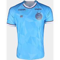 Camisa De Goleiro Bahia I 20/21 S/N° Torcedor Esquadrão Masculina - Masculino-Azul Turquesa