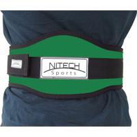Cinto Reforçado Com Velcro Simples - Nitech Sports - Unissex