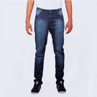 Calça Jeans Sandro Clothing Azul Escuro Blue