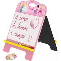 Lousa Junges 2 Em 1 Princesas Rosa