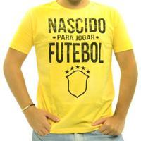 Camiseta Nascido Para Jogar Futebol Masculina - Masculino