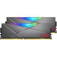 Memória Xpg Spectrix D50, Rgb, 32Gb (2X16Gb), 3200Mhz, Ddr4, Cl16, Cinza - Ax4U320016G16A-Dt50
