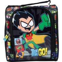 Lancheira Teen Titans Go La32313Tg Preta