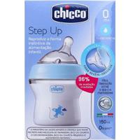 Mamadeira Chicco Step Up Fluxo Normal Masculina - Masculino-Azul