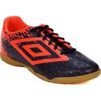 86eefa8015 Tênis Futsal Masculino Umbro Acid Azul Marinho Coral