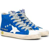 Golden Goose Kids Francy Sneakers - Azul