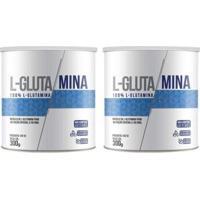 Kit 2X L-Glutamina 300 Gramas - Clinic Mais - Unissex
