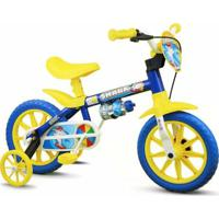 Bicicleta Bicicleta Infantil Aro 12 Shark Nathor - Masculino