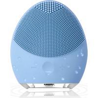 Esponja Elétrica De Limpeza De Pele Facial Massageadora De Silicone Azul