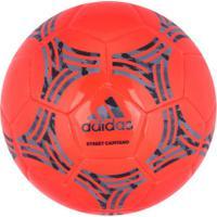 Bola De Futebol De Campo Adidas Tango Street Glider - Laranja/Cinza