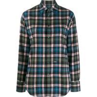 Dsquared2 Camisa Xadrez - Azul