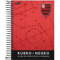 Caderno Foroni Flamengo Tabela Tática 12 Matérias