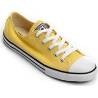 Tênis Converse All Star Ct As Core Ox Feminino - Feminino-Amarelo