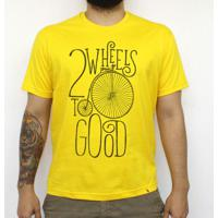 Two Wheels - Camiseta Clássica Masculina