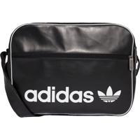 Bolsa Adidas Airliner Originals Preto - Preto - Dafiti