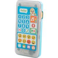 Telefone Emojis - Primeiras Palavras - Aprender E Brincar - Cachorrinho - Fisher-Price - Masculino-Incolor
