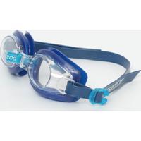 Óculos Para Natação Captain- Incolor & Azul Marinho-Speedo