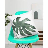 Amaro Feminino Design Up Living Capa De Almofada Costela De Adão 42X42, Branco